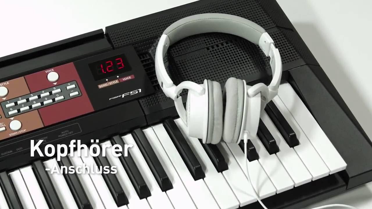 dan organ Yamaha psr F51