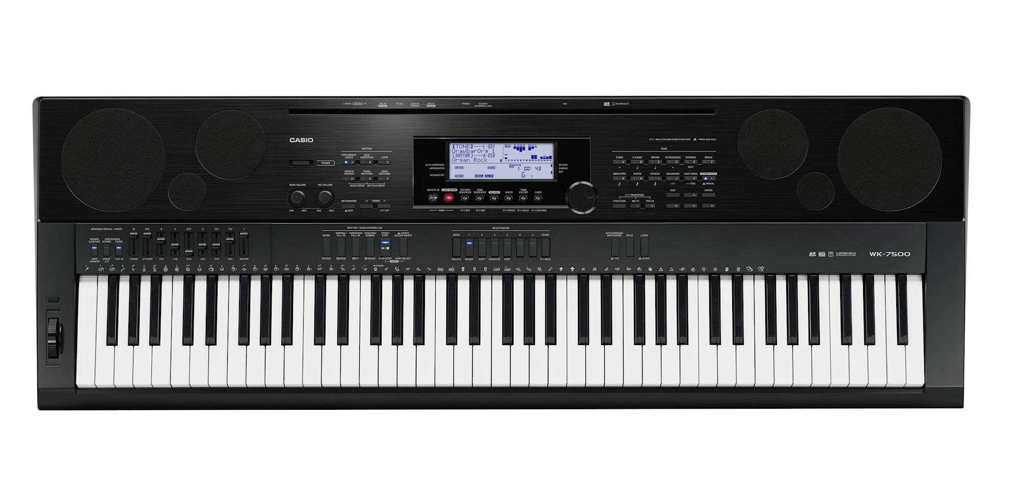 organ casio WK-7600