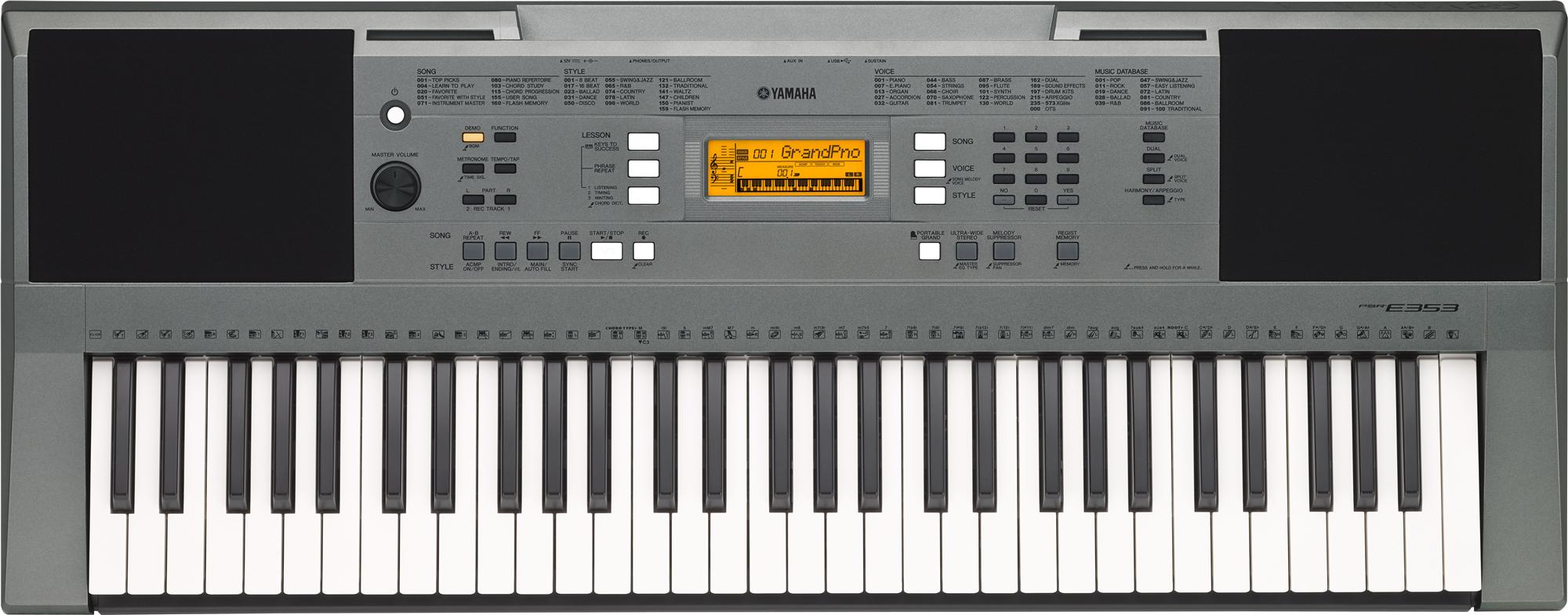 Organ Yamaha PSR-E353